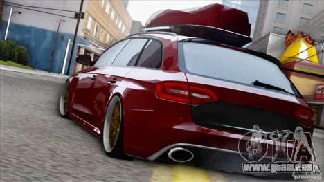 Audi RS6 für GTA San Andreas linke Ansicht