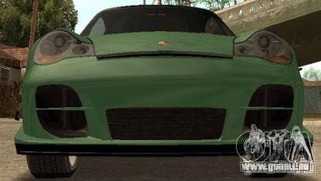 Porsche 911 GT2 für GTA San Andreas zurück linke Ansicht
