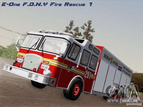 E-One F.D.N.Y Fire Rescue 1 für GTA San Andreas