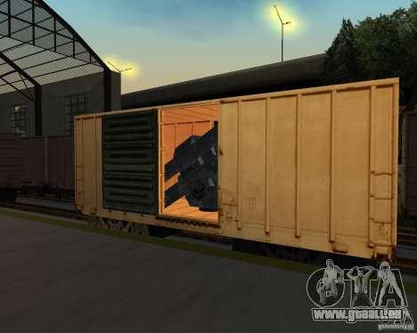 Nouvelle station de chemin de fer pour GTA San Andreas septième écran