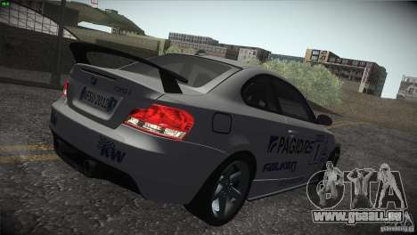 BMW 135i Coupe Road Edition pour GTA San Andreas roue