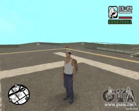 CJ Gopnik pour GTA San Andreas cinquième écran