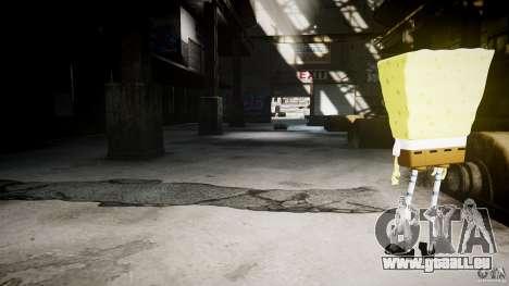 Bob l'éponge pour GTA 4 huitième écran