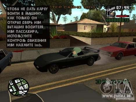 Squidward pour GTA San Andreas neuvième écran