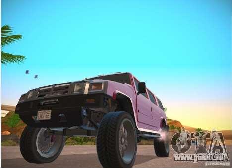 Patriote de GTA 4 pour GTA San Andreas laissé vue