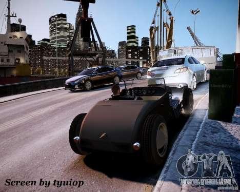 Roadster High Boy für GTA 4 Seitenansicht