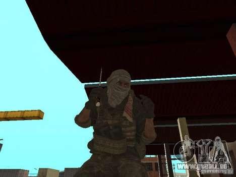 Dušman 2 de COD4MW pour GTA San Andreas deuxième écran
