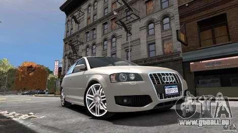 Audi S3 2006 v1. 1 ist nicht tonirovanaâ für GTA 4