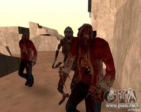 Zombie Half life 2 pour GTA San Andreas septième écran