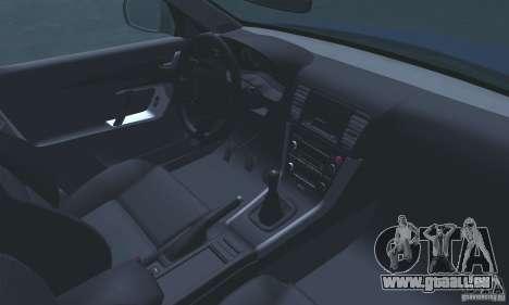 Subaru Legacy 2004 v1.0 pour GTA San Andreas vue de dessus