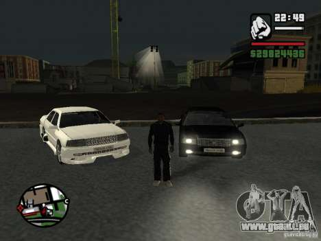 Toyota Crown Tunable pour GTA San Andreas