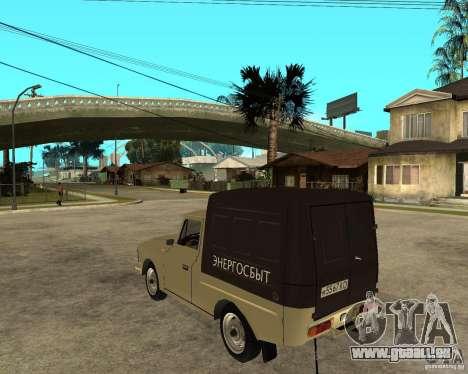 IZH 2715 « Moskvich » pour GTA San Andreas laissé vue