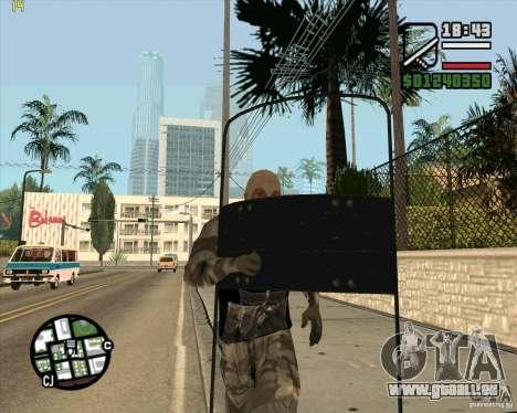 Rüstung Schild von Call of Duty Modern Warfare 2 für GTA San Andreas