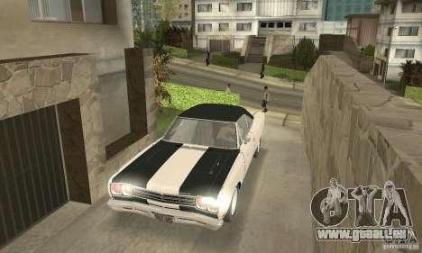 Plymouth Roadrunner 383 für GTA San Andreas Unteransicht