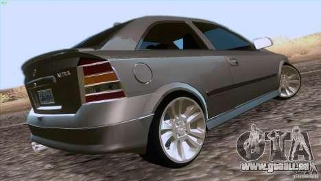 Opel Astra G 2.0 1.6V für GTA San Andreas linke Ansicht