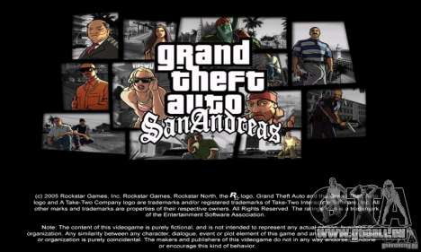 Loadscreens in GTA-IV Style pour GTA San Andreas quatrième écran