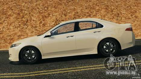 Honda Accord Type S 2008 für GTA 4 linke Ansicht