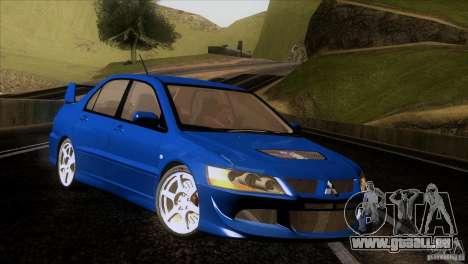 Mitsubishi Lancer Evolution IIIV pour GTA San Andreas