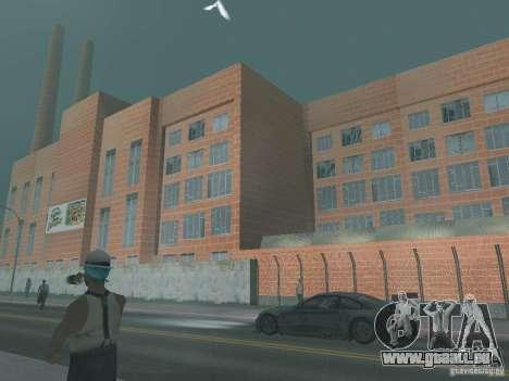 Pringles Factory pour GTA San Andreas troisième écran
