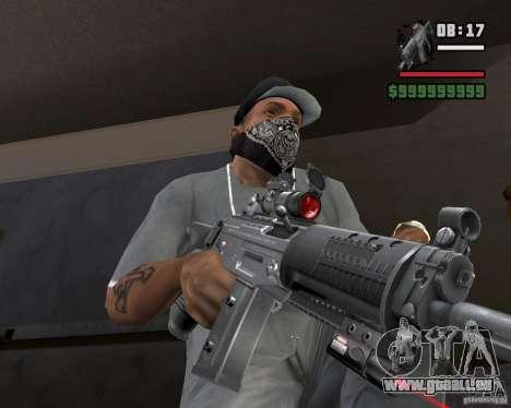 Visée laser Rifle pour GTA San Andreas