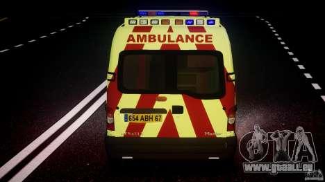 Renault Master 2007 Ambulance Scottish [ELS] pour GTA 4 roues