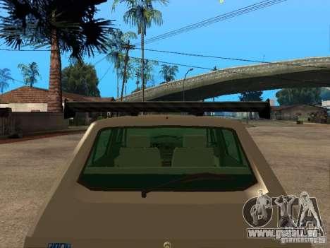 Fiat Ritmo für GTA San Andreas Innen