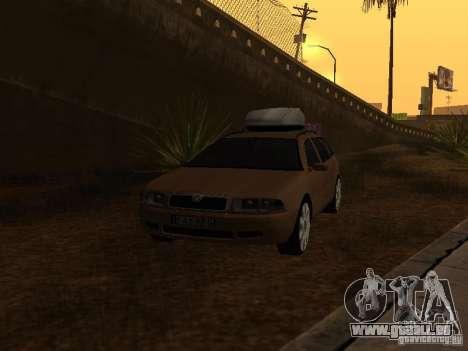 Skoda Octavia für GTA San Andreas