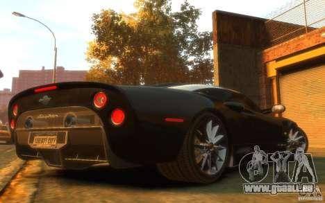 Spyker C8 Aileron pour GTA 4 est un droit
