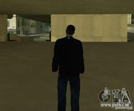Journaliste italien pour GTA San Andreas quatrième écran