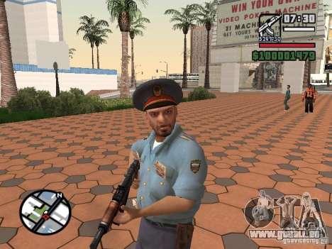 Flics pour GTA San Andreas deuxième écran