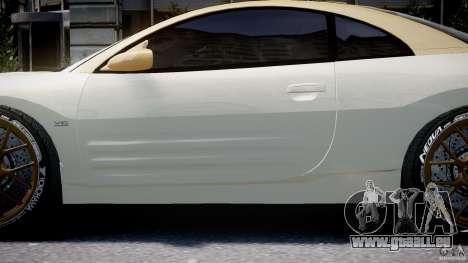 Mitsubishi Eclipse GTS Coupe für GTA 4 Unteransicht