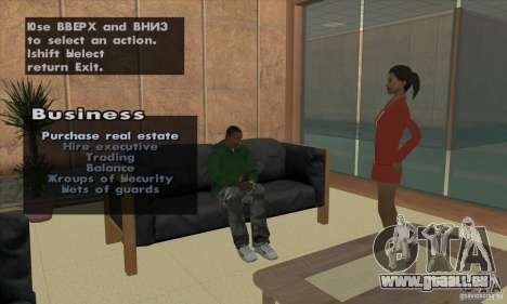 Empire of CJ v.3.8.0 für GTA San Andreas zehnten Screenshot