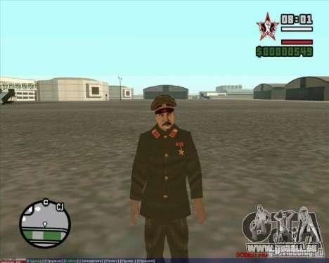 Staline pour GTA San Andreas deuxième écran