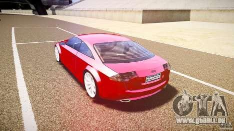 Audi Nuvollari Quattro für GTA 4 rechte Ansicht