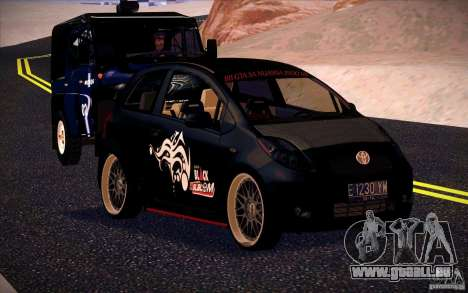 Toyota Yaris für GTA San Andreas linke Ansicht