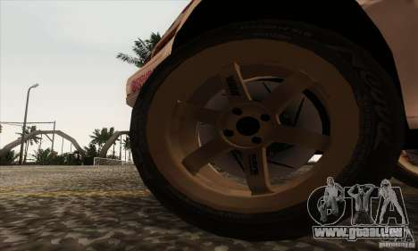 Toyota Corolla AE86 pour GTA San Andreas vue arrière