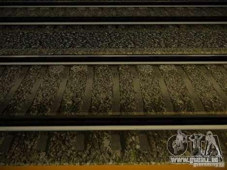 Nouveaux Rails pour GTA San Andreas deuxième écran