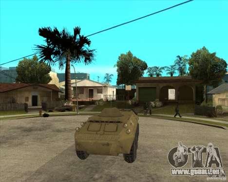 L'APC de t. s. a. l. k. e. R pour GTA San Andreas vue arrière