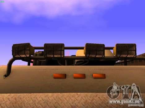 Monster Van pour GTA San Andreas vue de dessus