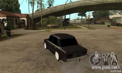 Lada VAZ 2106 LT für GTA San Andreas zurück linke Ansicht
