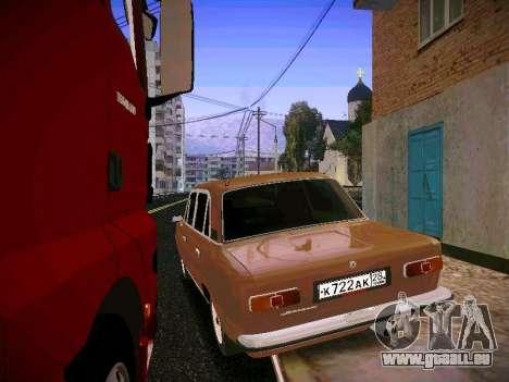 VAZ 21011 für GTA San Andreas zurück linke Ansicht