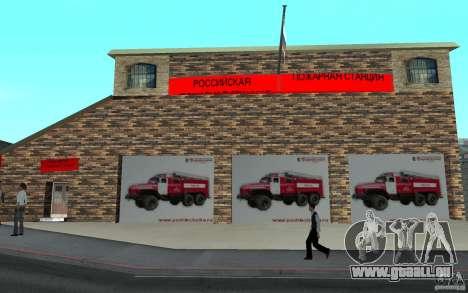 Russische Feuerwache in San Fierro für GTA San Andreas