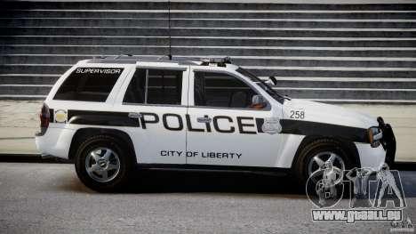 Chevrolet Trailblazer Police V1.5PD [ELS] für GTA 4 Innenansicht