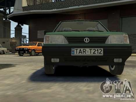 FSO Polonez für GTA 4 obere Ansicht