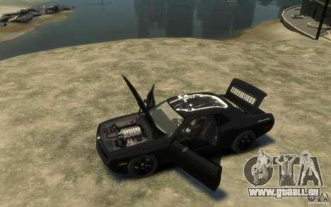 Dodge Challenger Concept Slipknot Edition für GTA 4 linke Ansicht