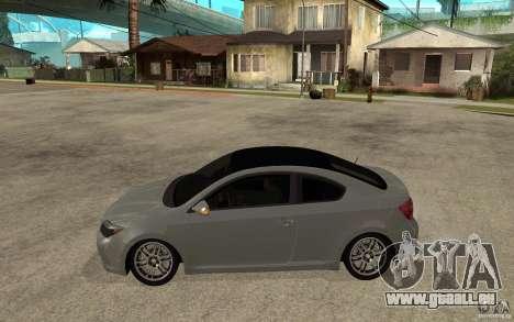 Scion tC - Stock pour GTA San Andreas laissé vue