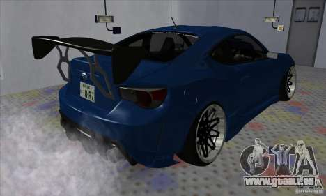 Subaru BRZ JDM pour GTA San Andreas vue de droite
