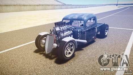 Ford Ratrod 1936 für GTA 4 Rückansicht