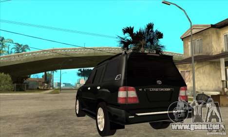 Toyota Land Cruiser 100vx v2.1 pour GTA San Andreas vue de droite