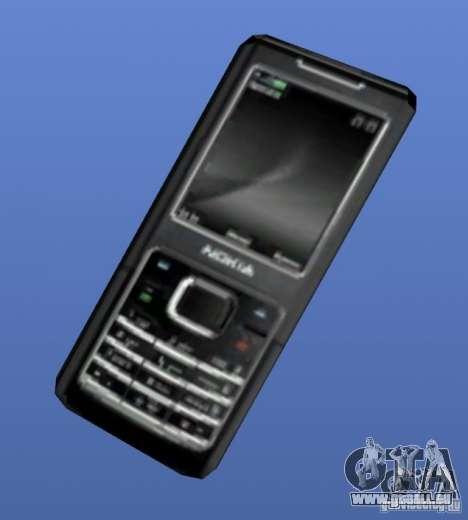 Handy Nokia 6500 für GTA 4